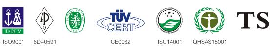 Logo certificati