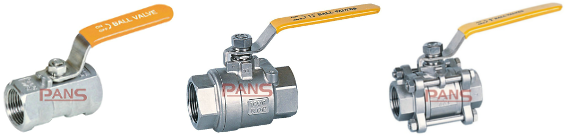 Threaded ends ball valve