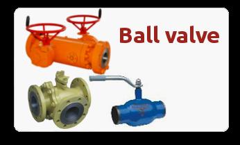 ball valve button