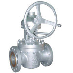 flange connection lifting plug valve