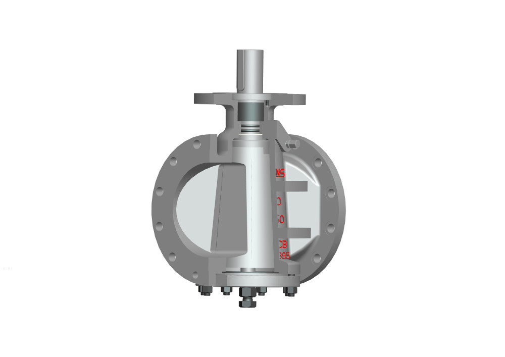 Inverted pressure balance lubricated plug valve